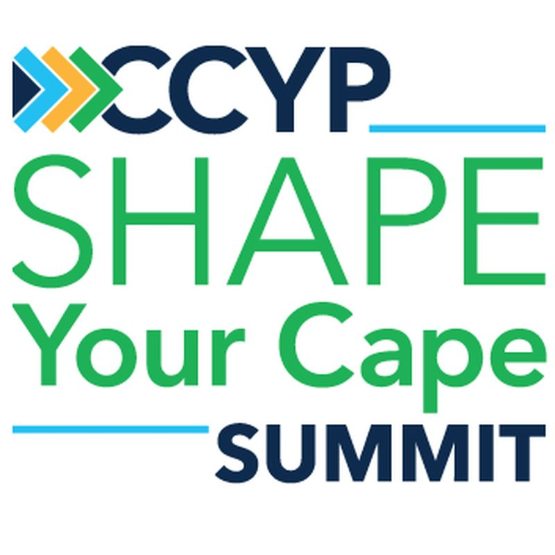 Shape Cape Summit Logo White