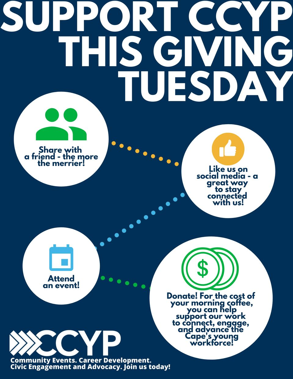 Support Ccypthis Giving Tuesday