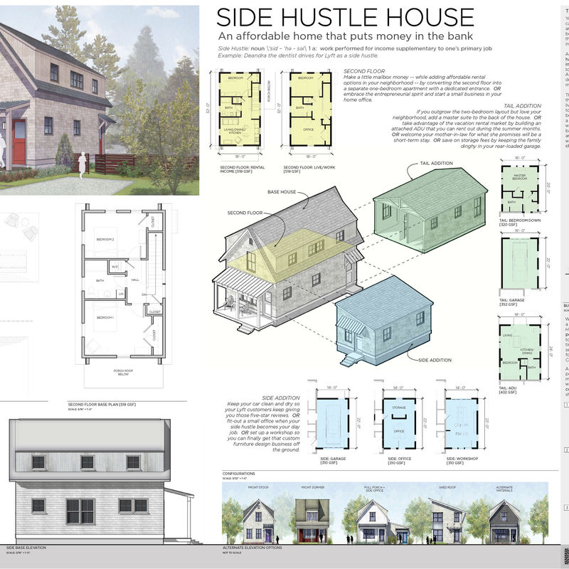 Union Studio Side Hustle House Presentation Board Compressed